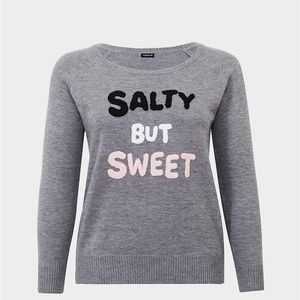 Torrid Salty But Sweet Sweatshirt Sweater Sz 2 NWT